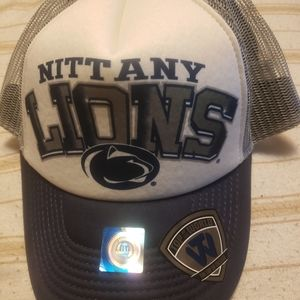 A RARE PENN STATE HAT. NEW. SNAPBACK